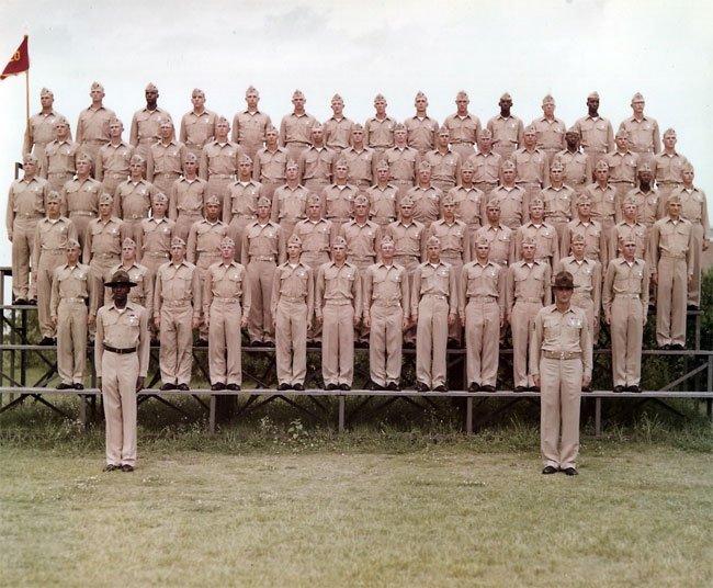 Parris Island Recruits Beaufort