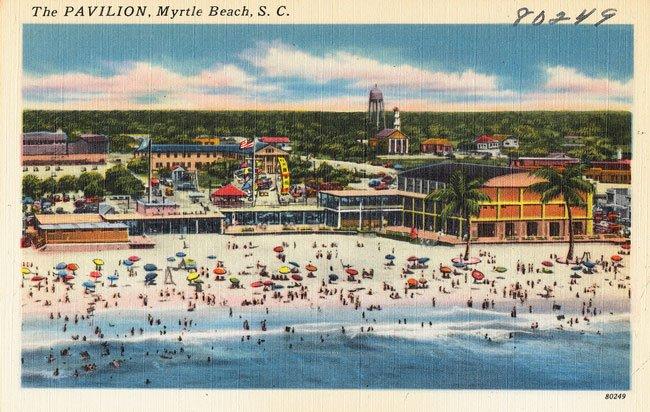 Pavilion Post Card