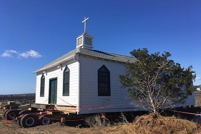 Pawleys Island Chapel Moving