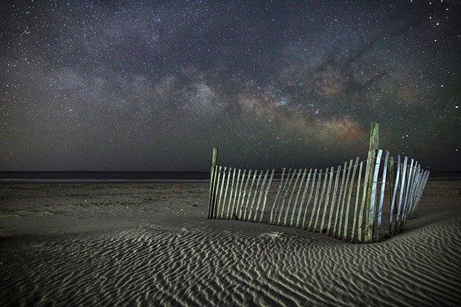Pawley's Island Milky Way