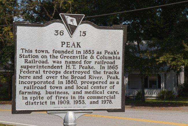 Peak SC Marker