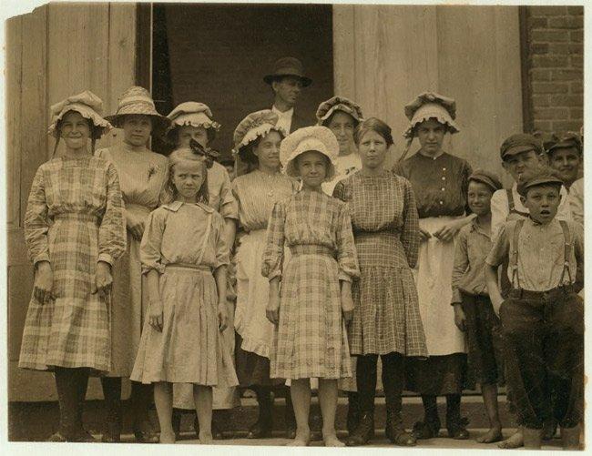 Pelzer Mill Children