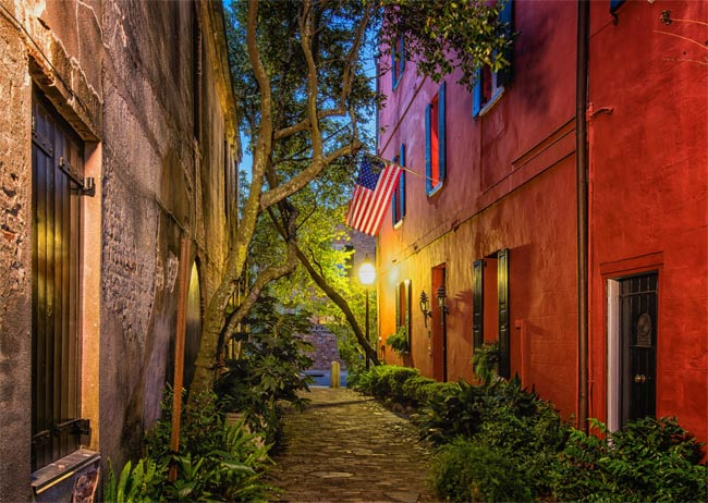 Philadelphia Alley in Charleston, SC