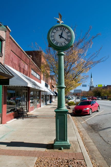 Pickens Town Clock SC