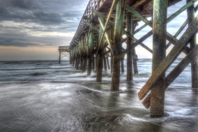 Isle of palms pier isle of palms south carolina sc for Isle of palms fishing pier