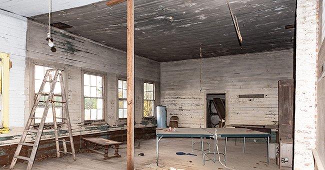 Pine Grove School Interior