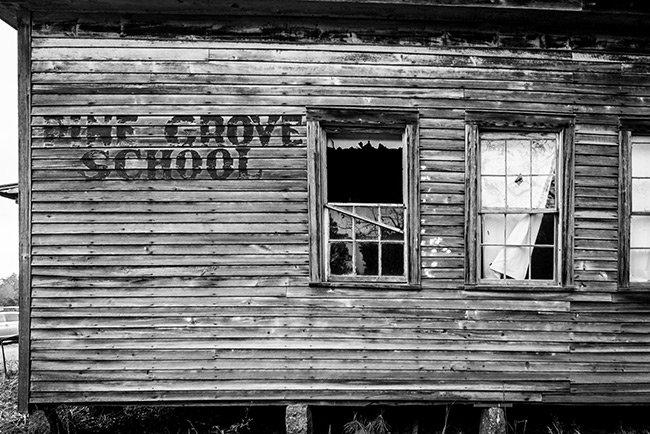 Pine Grove School Side