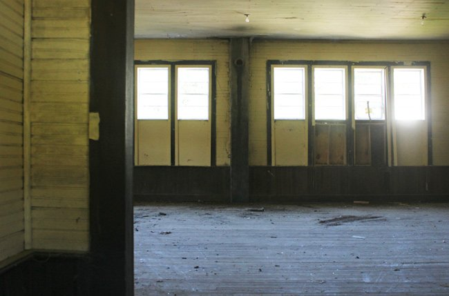 Pine Hill School Interior