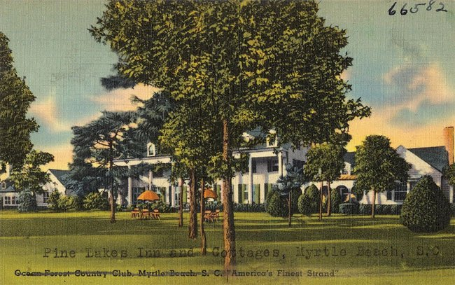 Pine Lakes Club Postcard