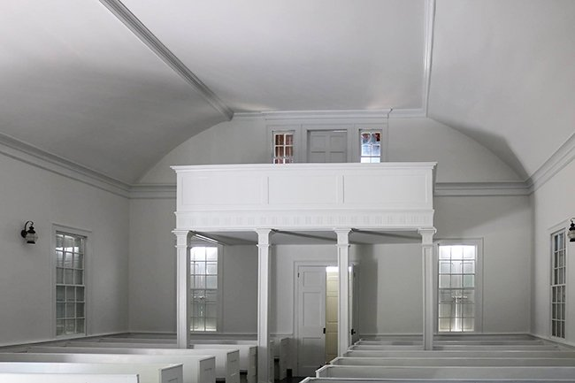 Pineville Chapel Interior