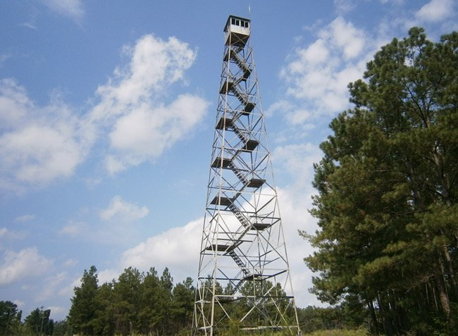 Pineville Lookout Tower Pineville Sc Photos Map History