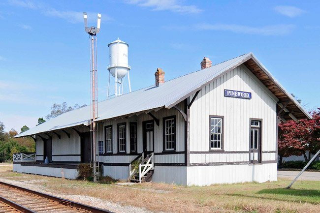 Pinewood Depot in Sumter County