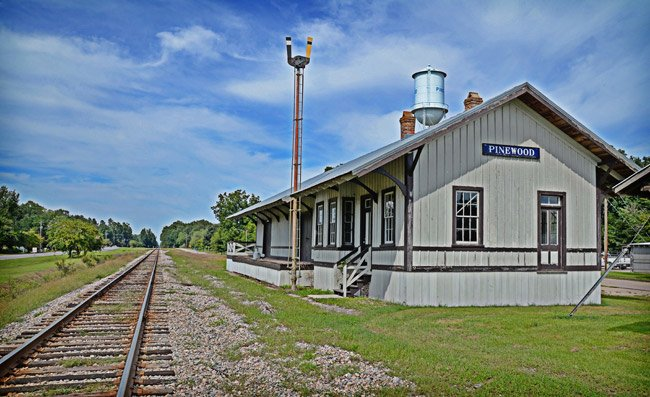Pinewood Train Depot