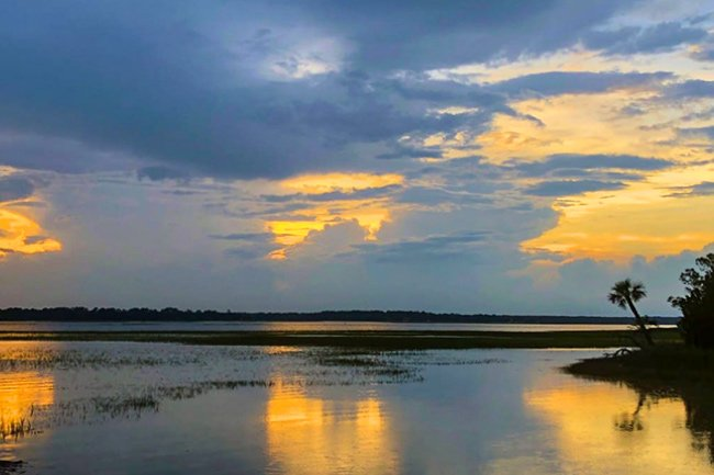 Pinckney Island Wildlife Refuge Sunset