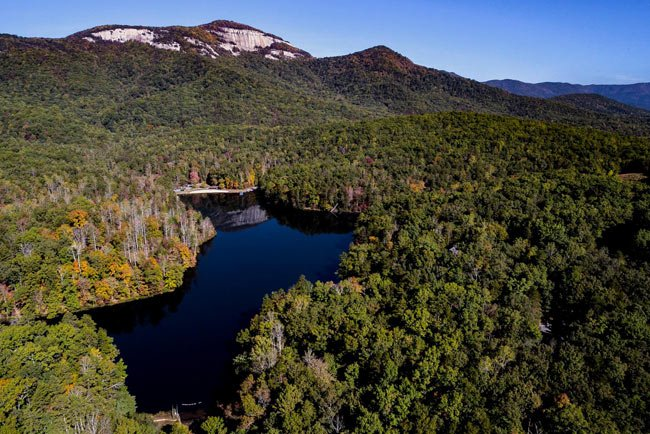 Pinnacle Lake Aerial