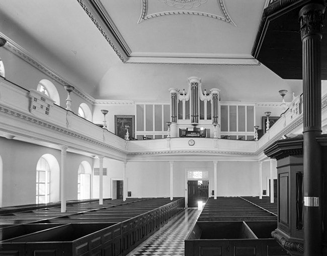 Pipe Organ, Interior, St. John's Lutheran Church