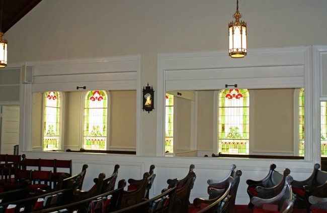 Pisgah Methodist Interior