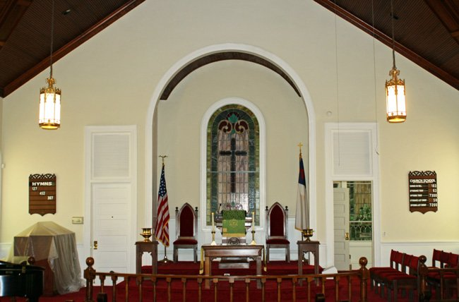 Pisgah UMC Interior