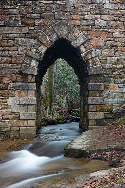 Poinsett Bridge Archway