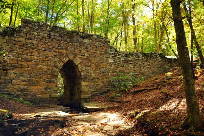 Poinsett Bridge in Greenville