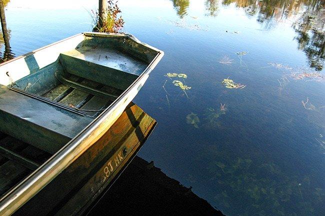 Poinsett State Park Boat