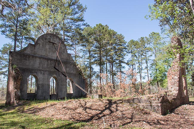 Pon Pon Chapel Ruins