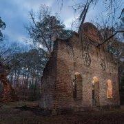 Pon Pon Chapel at Twighlight