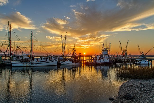 Port Royal SC Sunset