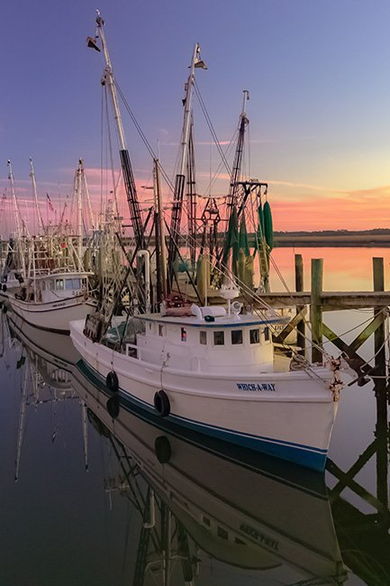 Battery Creek Port Royal South Carolina