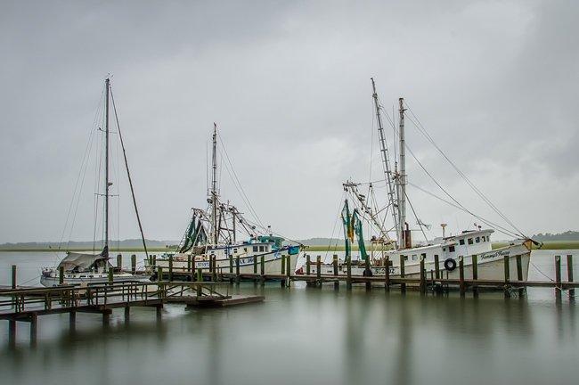 Port Royal Shrimp Boats