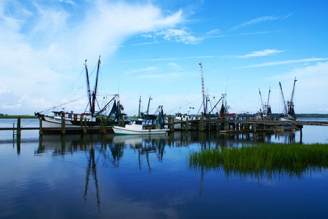 Port Royal Shrimp Boats