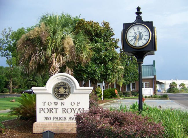 Port Royal Town Clock