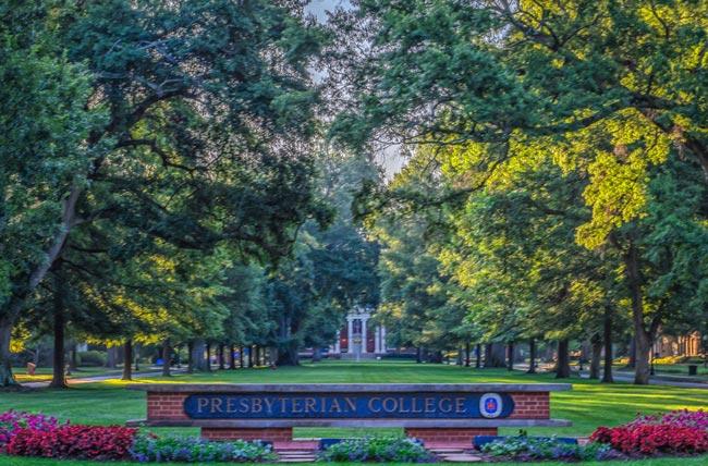 Presbyterian College Entrance