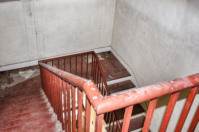 Presbyterian Manse Stairwell Landing