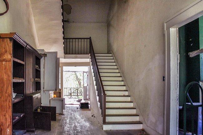 Presbyterian Manse Stairwell