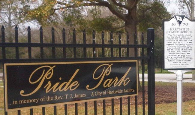 Pride Park Hartsville