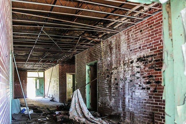 Prince-Carr Elementary School Hallway
