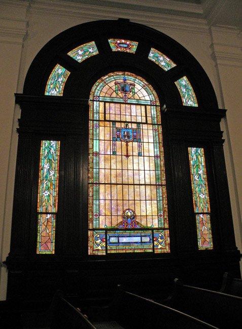 Providence Church Window