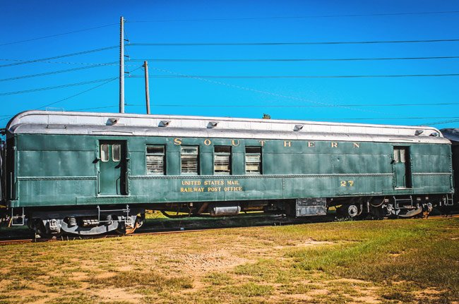 Railroad Museum Mail Car