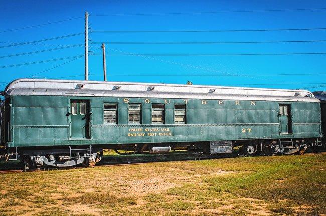 Railroad Museum Mail Car