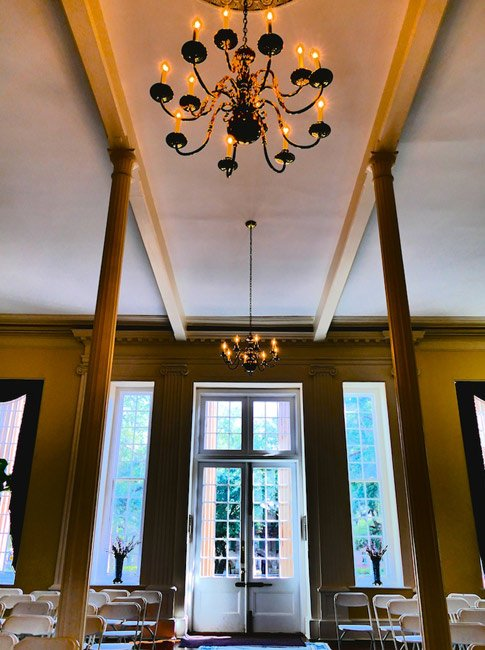Randolph Hall Interior