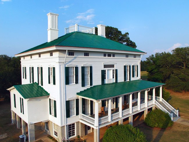 Redcliffe Plantation Aerial