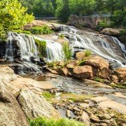 Reedy River Falls Greenville County