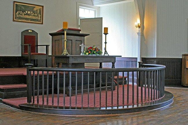Rembert Church Alter