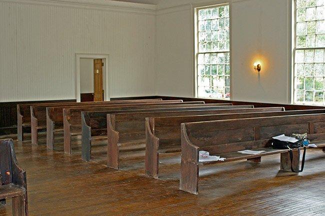 Rembert Church Pews
