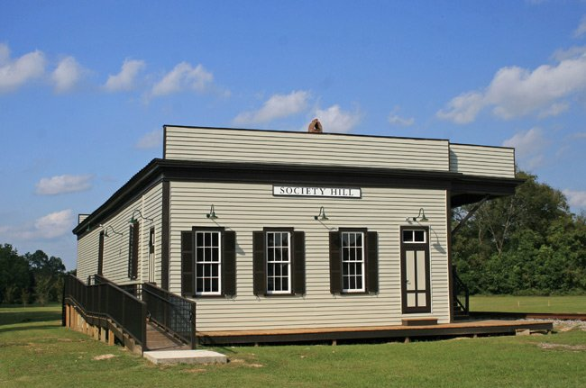 Restored Society Hill Depot