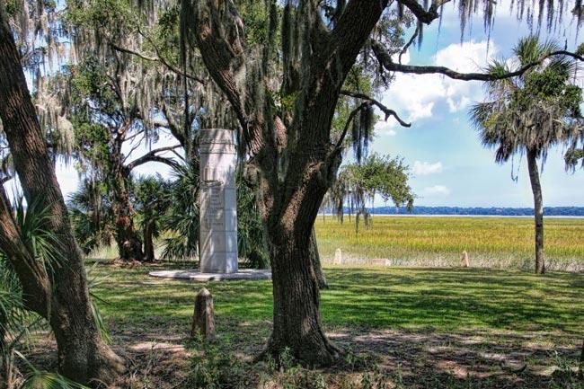 Ribaut Monument Port Royal