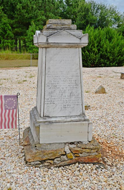 Richard Richardson Grave