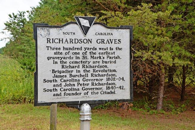 Richardson Cemetery Marker