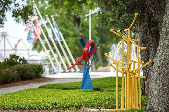 Riverfront Park Sculptures